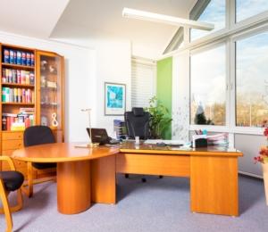 Innenansicht Büro
